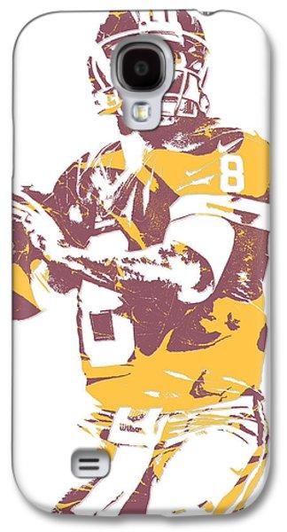 Kirk Cousins Washington Redskins Pixel Art 3 Galaxy S4 Case