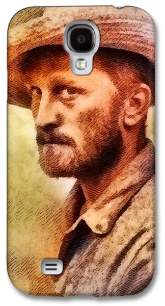 Kirk Douglas, Vintage Hollywood Actor Galaxy S4 Case