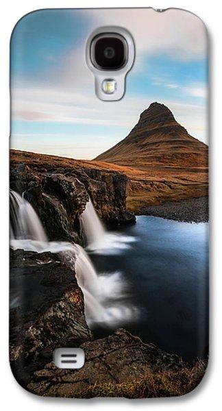 Kirkjufellsfoss Waterfalls Iceland Galaxy S4 Case