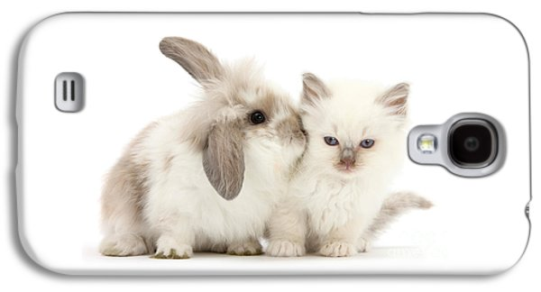 Kiss Her Fluffy Cheek Galaxy S4 Case