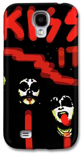 Def Leppard Galaxy S4 Case - Kiss It  by Enki Art