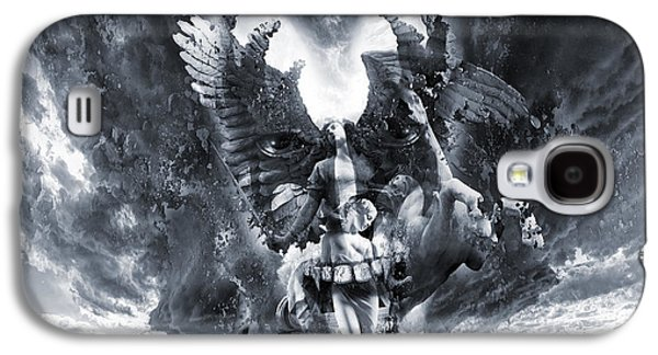 Kiss Of Eros Or Angels And Demons Galaxy S4 Case by George Grie