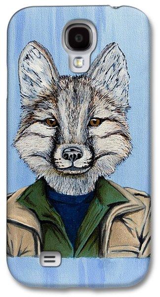 Kit Fox Crop '17 Galaxy S4 Case by Meredith Joyce-Houghton