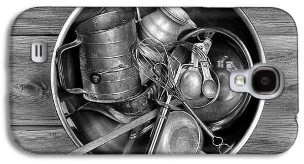Stainless Steel Galaxy S4 Case - Kitchen Utensils Still Life I by Tom Mc Nemar