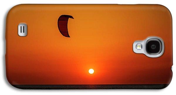Kite Surfing Galaxy S4 Case by Jelena Jovanovic