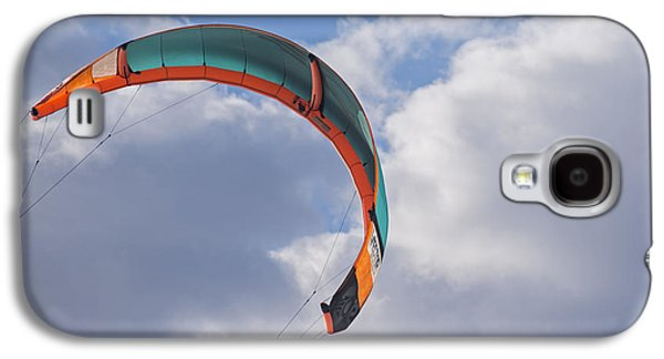 Kiteboard Sail In The Clouds On Pompano Beach Florida Galaxy S4 Case by Toby McGuire