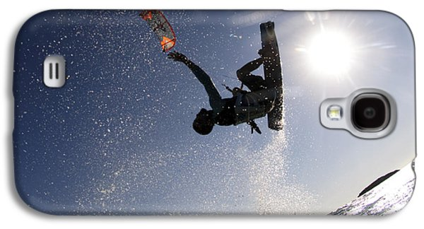 Kitesurfing In The Mediterranean Sea  Galaxy S4 Case