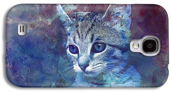 Kitten Galaxy S4 Case by Jutta Maria Pusl