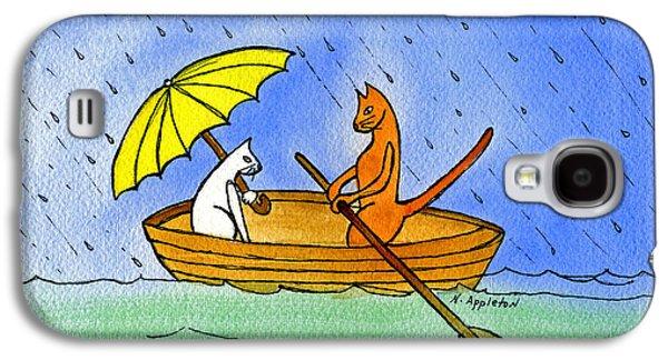 Kitties In A Boat Galaxy S4 Case