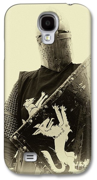 Knights Of Old 5 Galaxy S4 Case by Bob Christopher