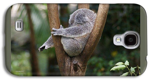 Koala Bear 3 Galaxy S4 Case by Gary Crockett