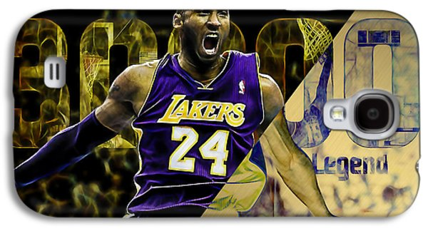Kobe Bryant Collection Galaxy S4 Case by Marvin Blaine