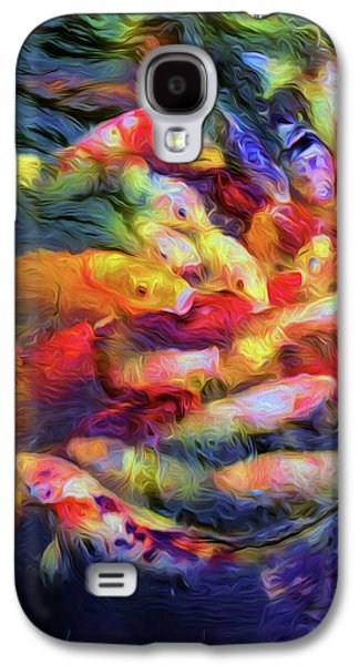 Koi Pond Galaxy S4 Case by Jon Woodhams