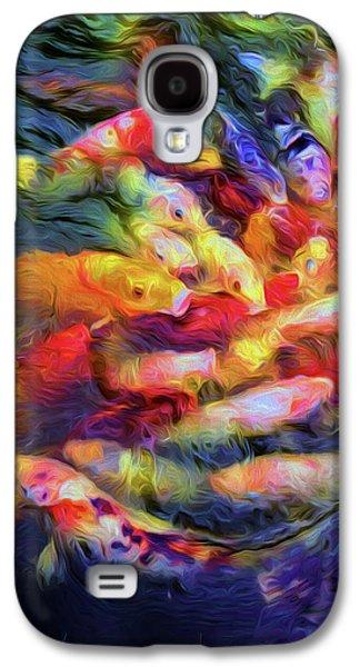 Koi Pond Galaxy S4 Case by Jon Woodhams