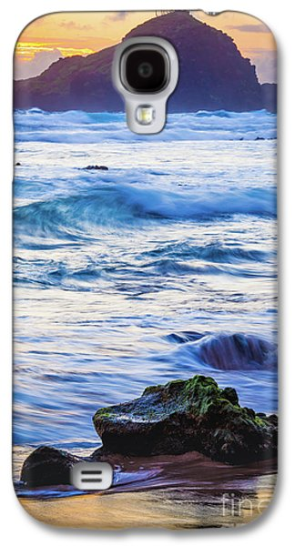 Koki Beach Sunrise #4 Galaxy S4 Case by Inge Johnsson