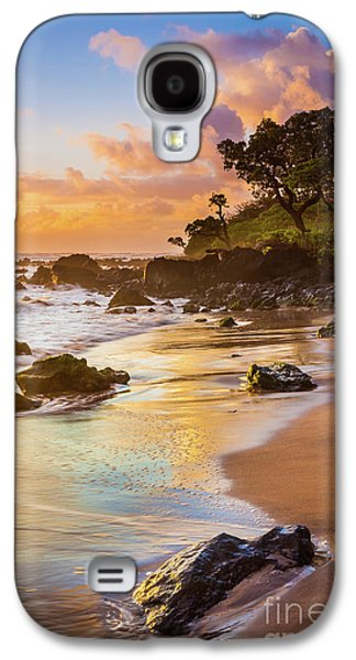 Koki Beach Sunrise Galaxy S4 Case by Inge Johnsson