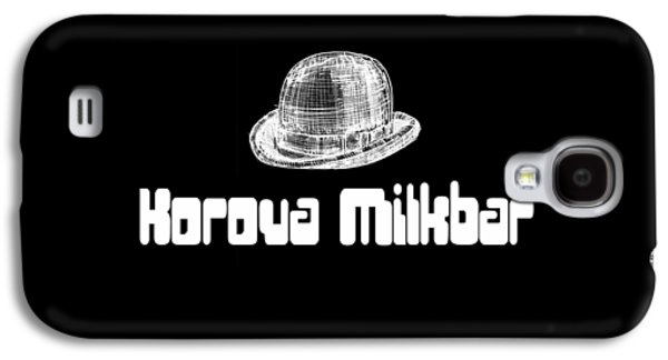 Korova Milkbar A Clockwork Orange Tee Galaxy S4 Case by Edward Fielding