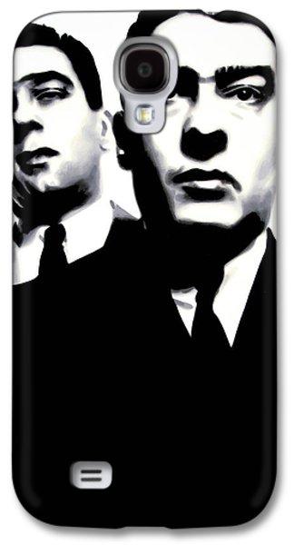 Kray Twins Galaxy S4 Case by Luis Ludzska