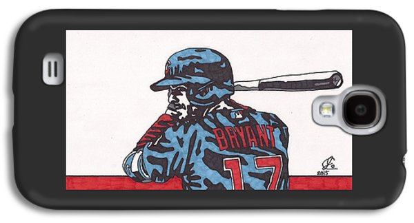 Kris Bryant  Galaxy S4 Case by Jeremiah Colley