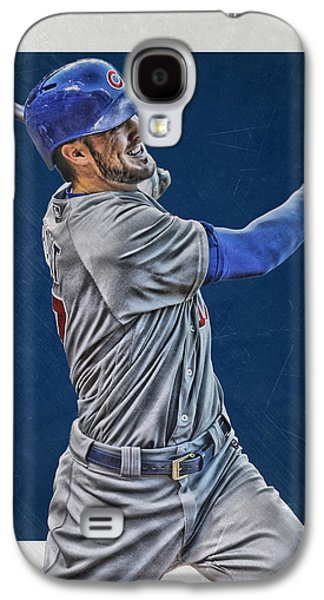 Kris Bryant Chicago Cubs Art 3 Galaxy S4 Case