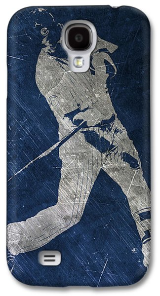 Kris Bryant Chicago Cubs Art Galaxy S4 Case