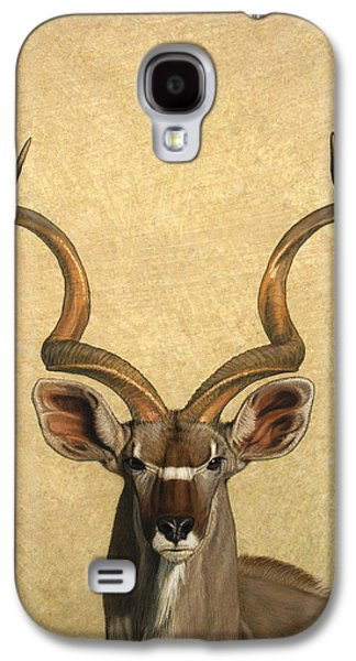 Eyes Galaxy S4 Cases - Kudu Galaxy S4 Case by James W Johnson