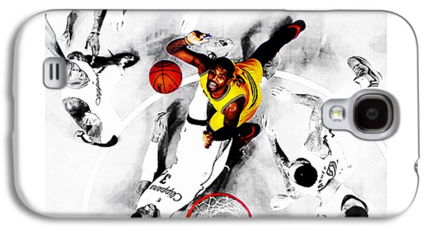Kyrie Irving Galaxy S4 Case by Brian Reaves