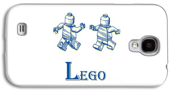 L Is For Lego Galaxy S4 Case
