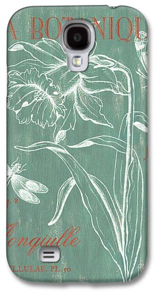 Dragon Galaxy S4 Case - La Botanique Aqua by Debbie DeWitt