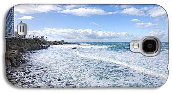 La Jolla Coast Galaxy S4 Case by Keith Ducker