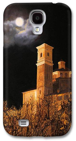 la luna a Cherasco Galaxy S4 Case by Guido Borelli