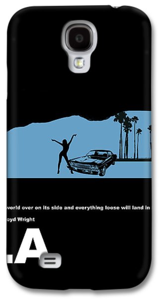 La Night Poster Galaxy S4 Case