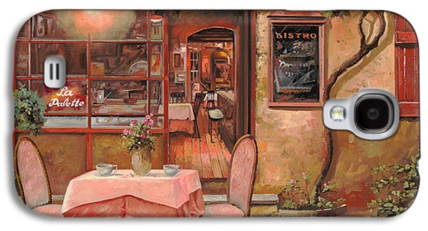 La Palette Galaxy S4 Case by Guido Borelli