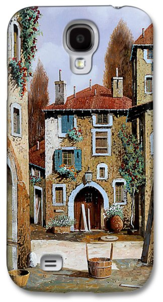 La Piazzetta Galaxy S4 Case by Guido Borelli