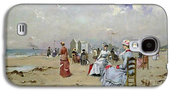 La Plage De Trouville Galaxy S4 Case by Paul Rossert