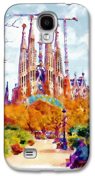 La Sagrada Familia - Park View Galaxy S4 Case by Marian Voicu