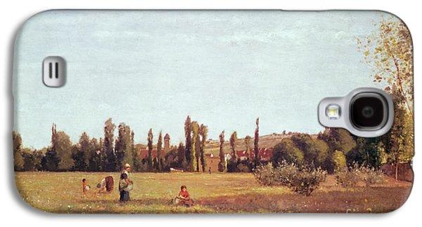 La Varenne De St. Hilaire Galaxy S4 Case by Camille Pissarro