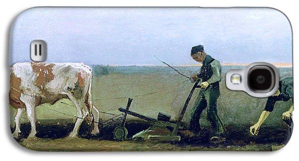 Potato Galaxy S4 Case - Labourer And Peasant  by Vincent van Gogh