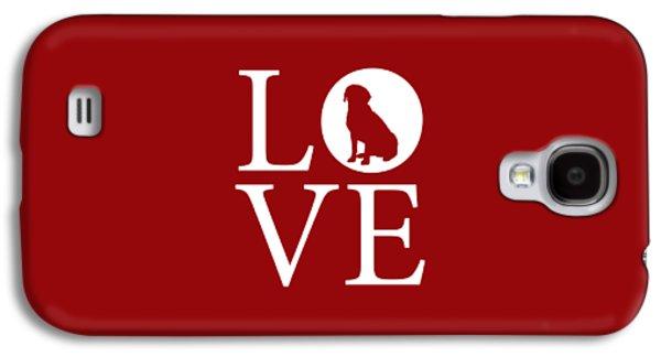 Labrador Love Red Galaxy S4 Case
