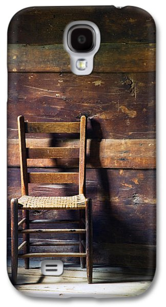 Ladderback Chair In Empty Room Galaxy S4 Case by Panoramic Images