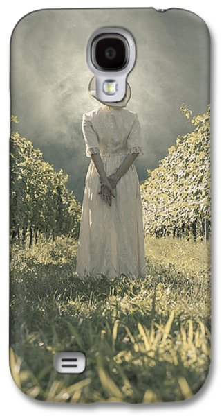 Dress Photographs Galaxy S4 Cases - Lady In Vineyard Galaxy S4 Case by Joana Kruse