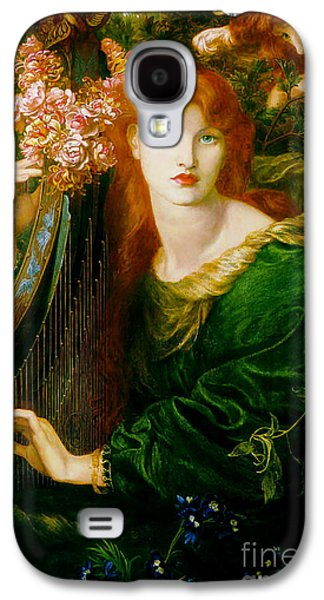 Lady Of The Garland 1873 Galaxy S4 Case by Padre Art