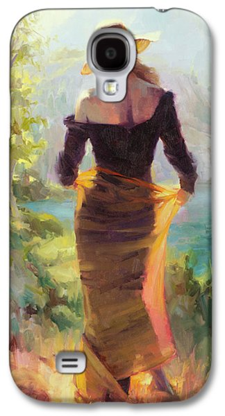 Impressionism Galaxy S4 Case - Lady Of The Lake by Steve Henderson