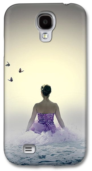 Dress Photographs Galaxy S4 Cases - Lady On The Beach Galaxy S4 Case by Joana Kruse