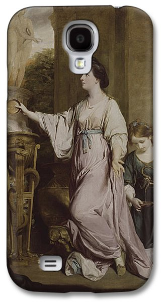 Lady Sarah Bunbury Sacrificing To The Graces Galaxy S4 Case by Joshua Reynolds