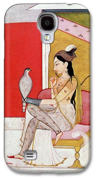 Lady With A Hawk Galaxy S4 Case by Guler School