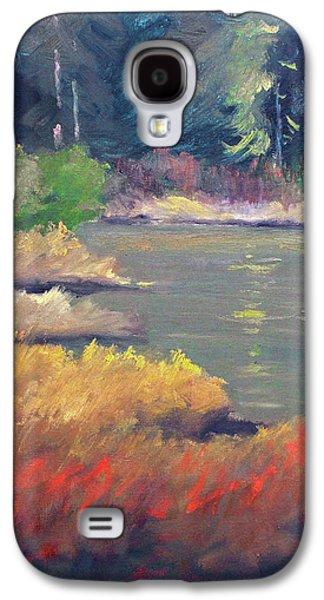 Lagoon Galaxy S4 Case by Nancy Merkle