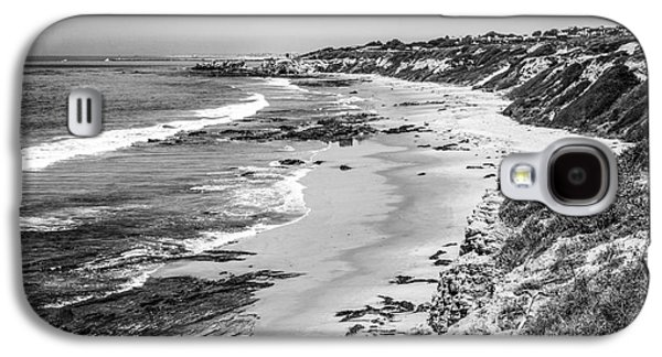 Laguna Beach Ca Black And White Photography Galaxy S4 Case by Paul Velgos