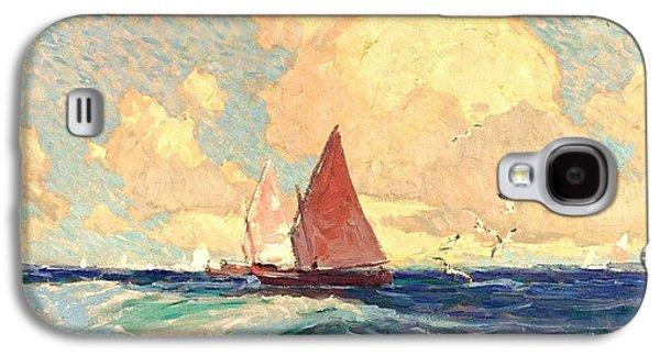 Yachting At Laguna Beach California 1921 Galaxy S4 Case