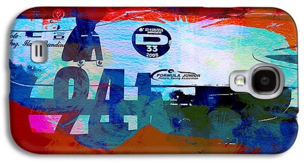 Laguna Seca Racing Cars 1 Galaxy S4 Case by Naxart Studio